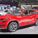 Skoda Kodiaq Sportline Stock Photo Alamy