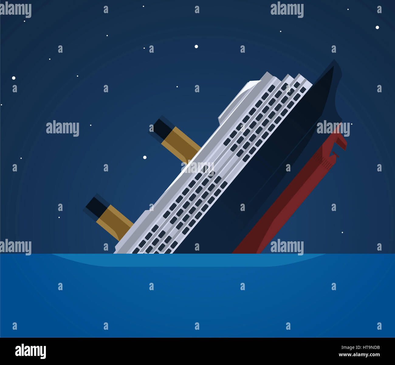 Sinking Ship Stock Photos Amp Sinking Ship Stock Images