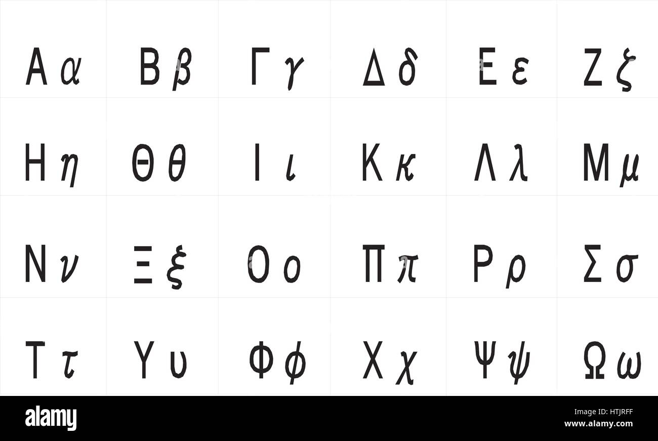 Greek Alphabet Stock Photos Amp Greek Alphabet Stock Images