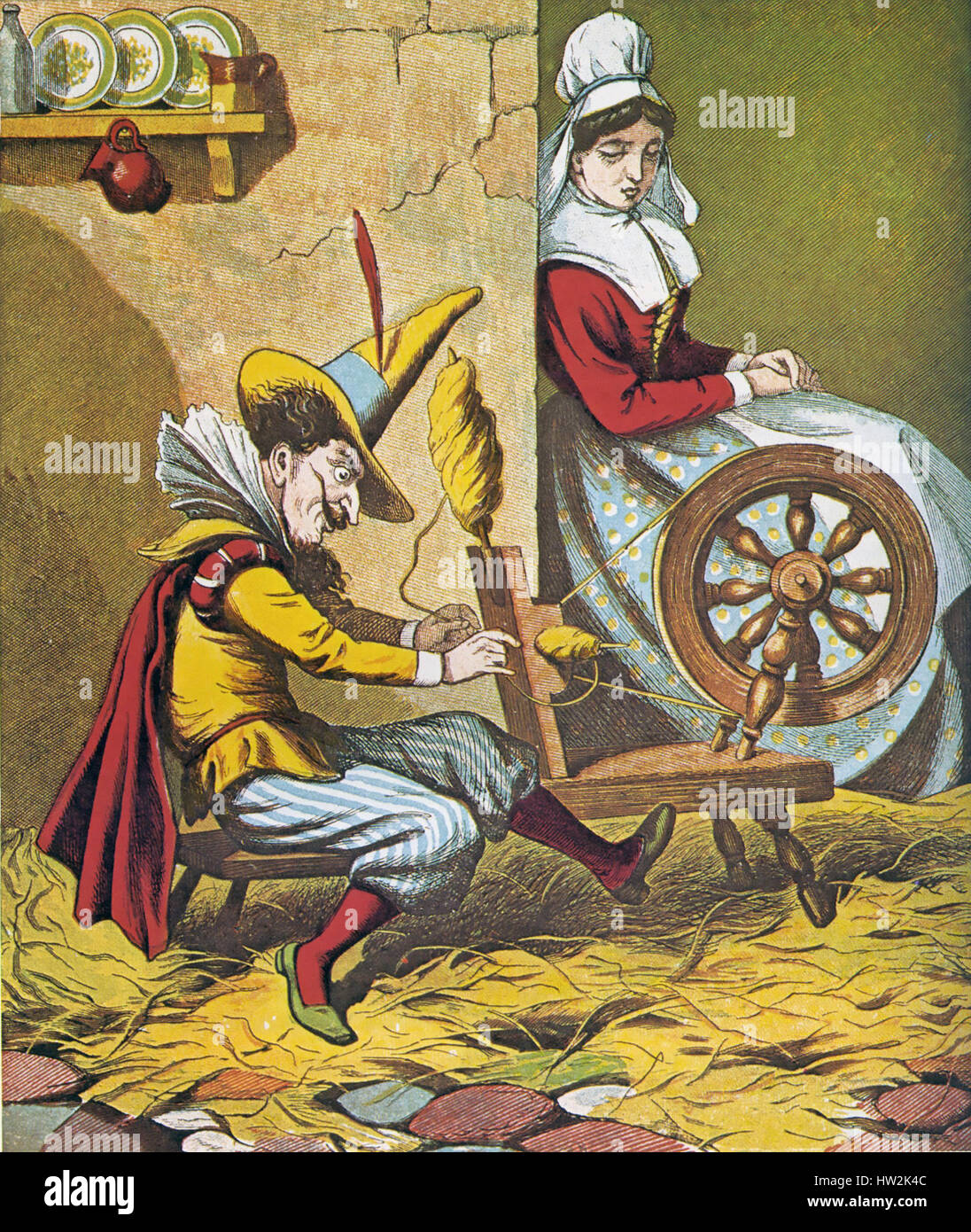 Rumpelstiltskin Fairy Tale Collected By The Brothers Grimm