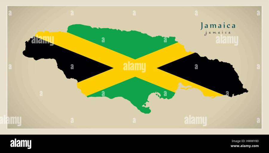 map of jamaica parishes and their capitals » Full HD MAPS Locations ...