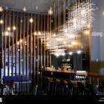 Bar Restaurant Interior Modern Design Architecture Panorama Stock Photo Alamy