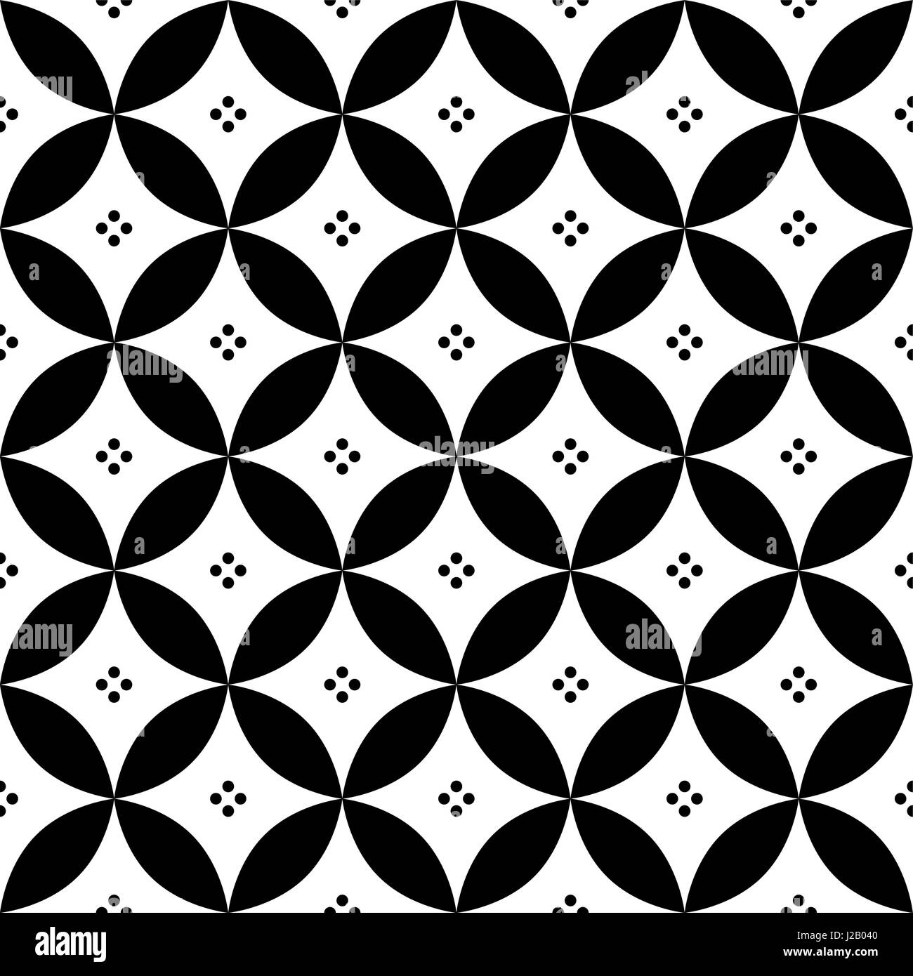 https www alamy com stock photo geometric seamless pattern in black and white inspired by spanish 139153840 html