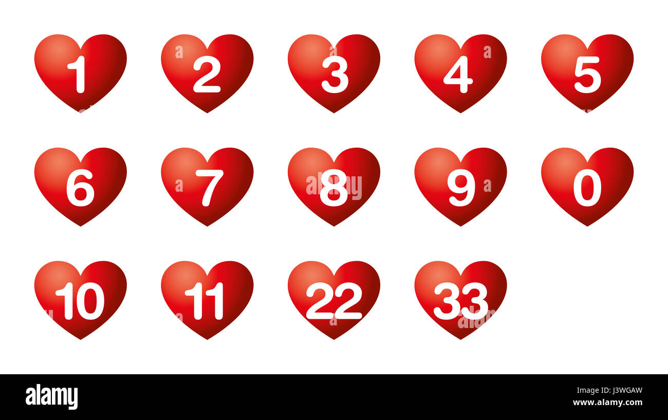 Heart S Desire Numbers Numerology Soul Urge Numbers In