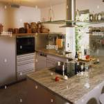 Cuisine Setup Modern Kitchen Living Room Cooking Island