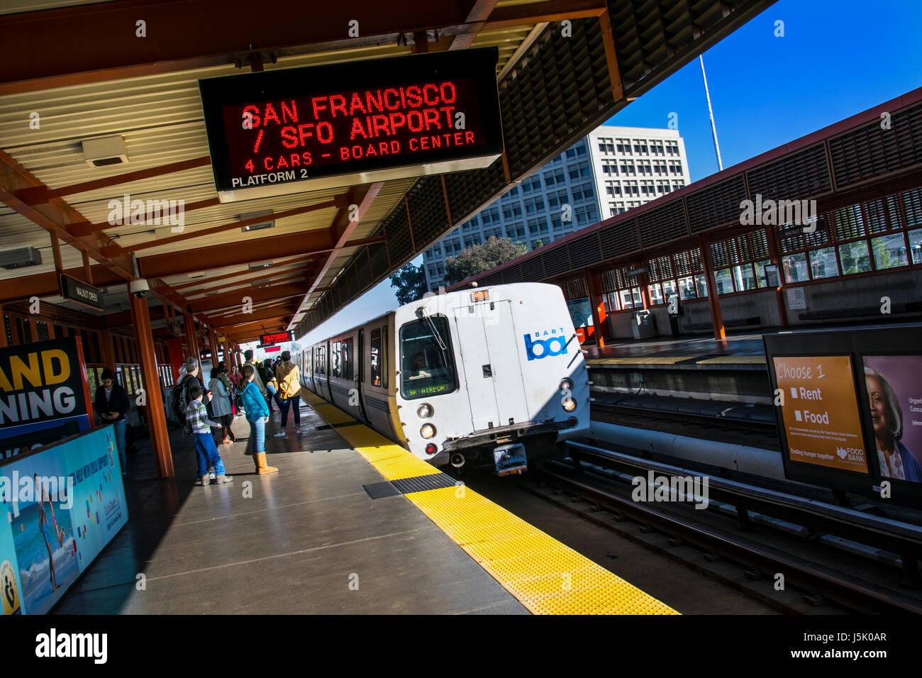 Bart San Francisco Stock Photos Bart San Francisco Stock