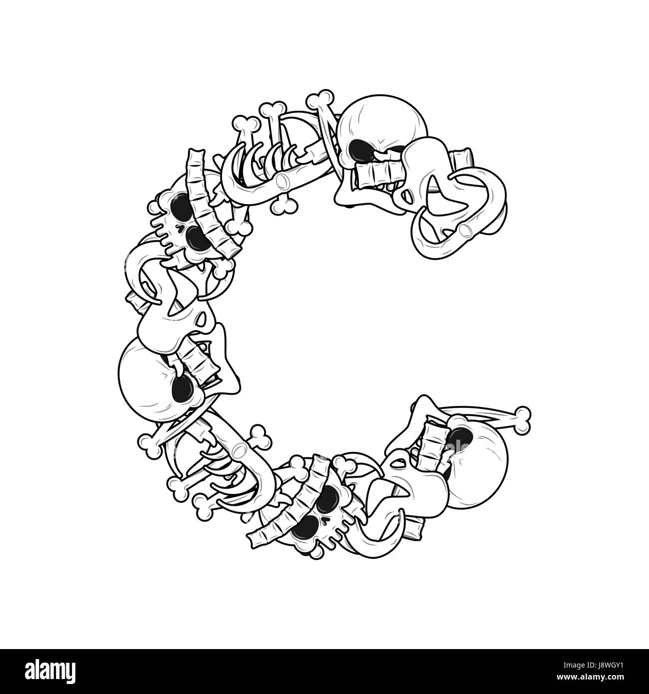 Cartoon Letter C Stock Photos Amp Cartoon Letter C Stock