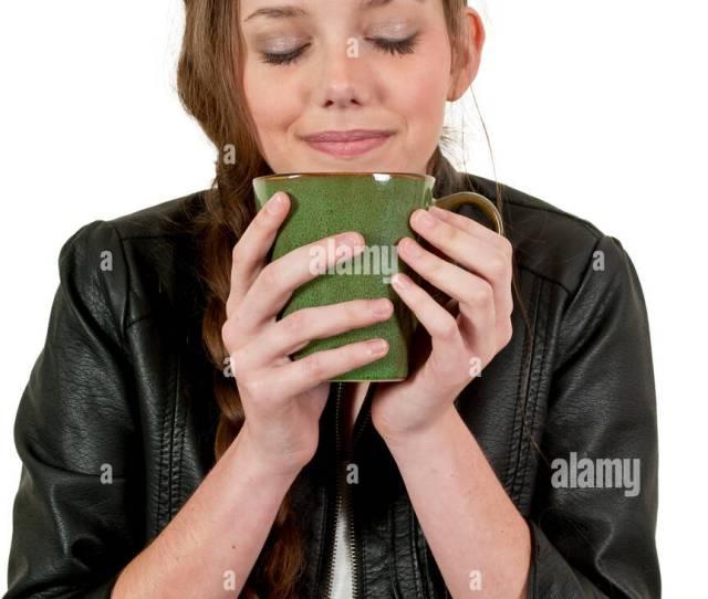 Tea Drink Drinking Bibs Teen Hot Teenager Coffee Girl Girls Woman