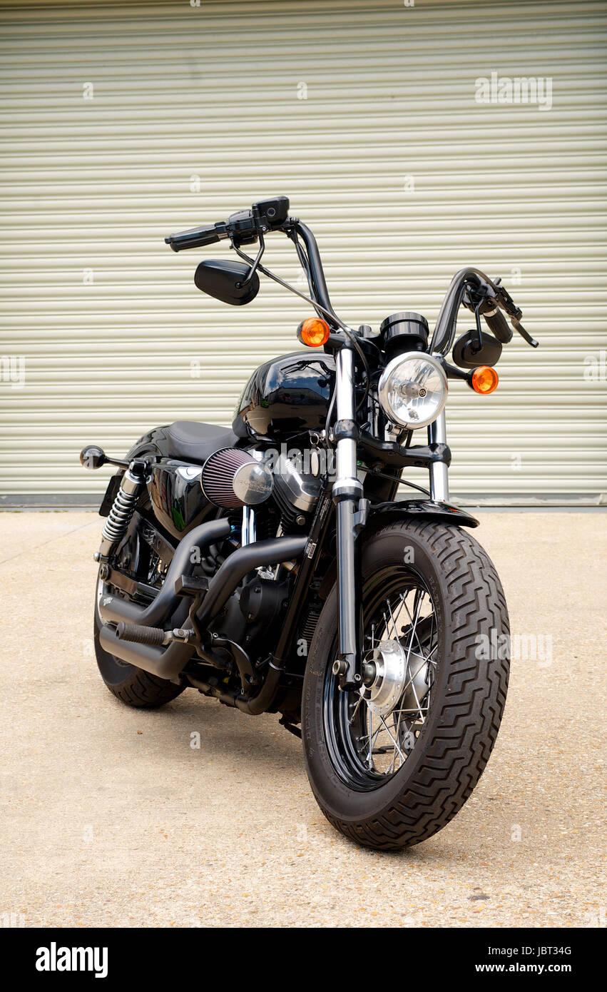 https www alamy com stock photo harley davidson 48 sportster motorcycle 144973488 html