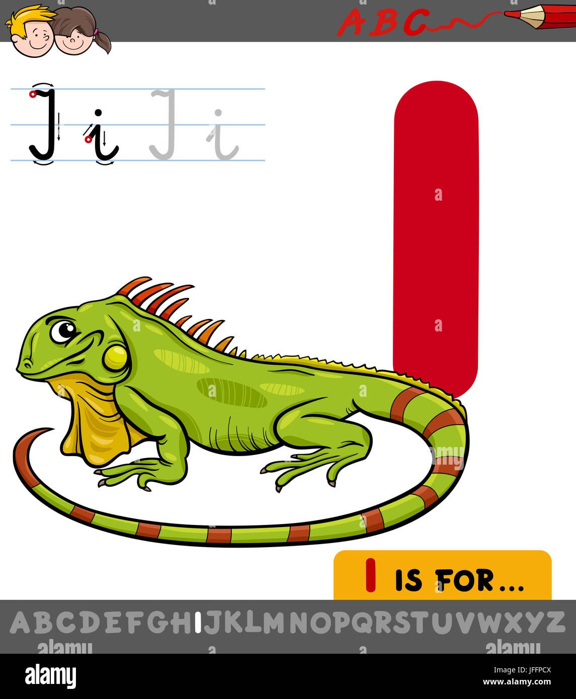 Letter I Iguana Stock Photos Amp Letter I Iguana Stock Images