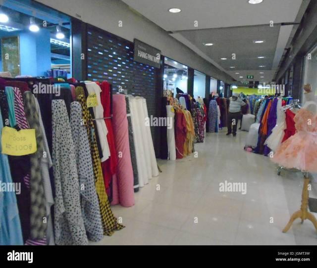 China World Fabric Outlet Shopping Apparel Textiles Mall Chakphet Road Bangkok Thailand