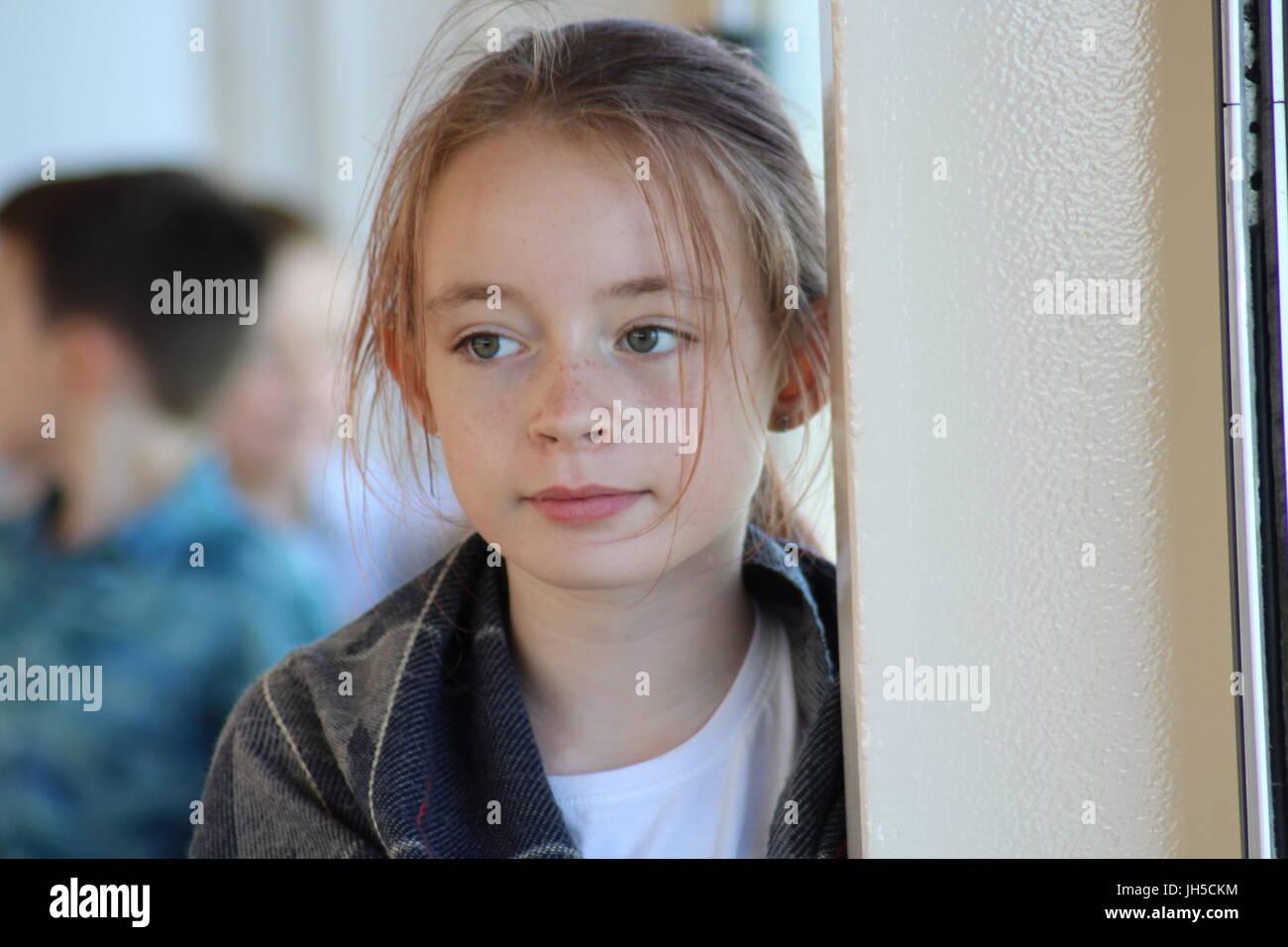 Pretty girl, blonde girl green eyes, pre-teen girl ... on Small:zikqrscfop8= Teenage Girls  id=94367