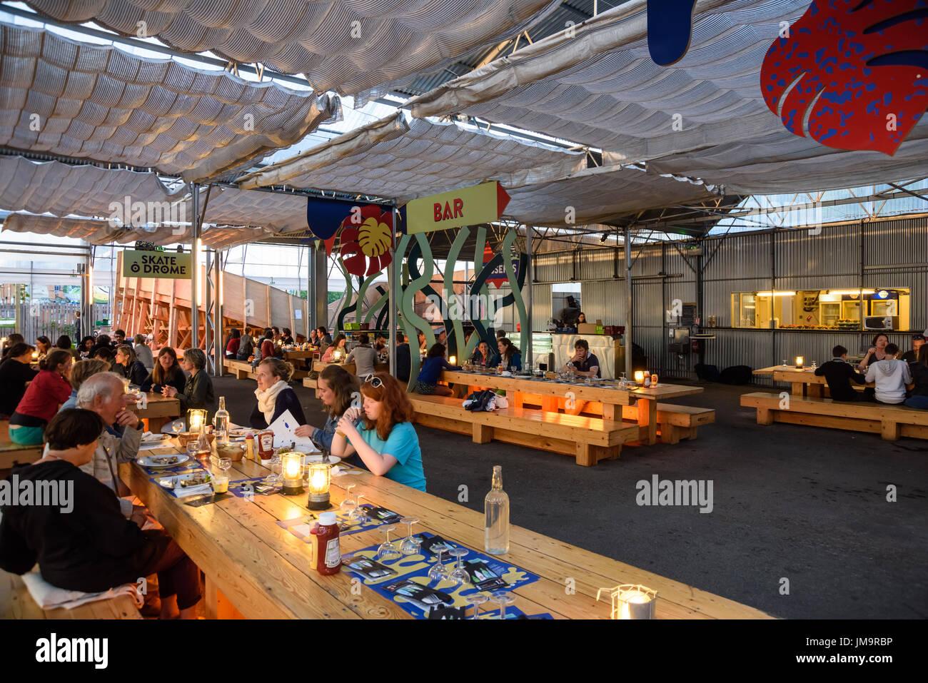 https www alamy com nantes restaurant la cantine du voyage image150191994 html