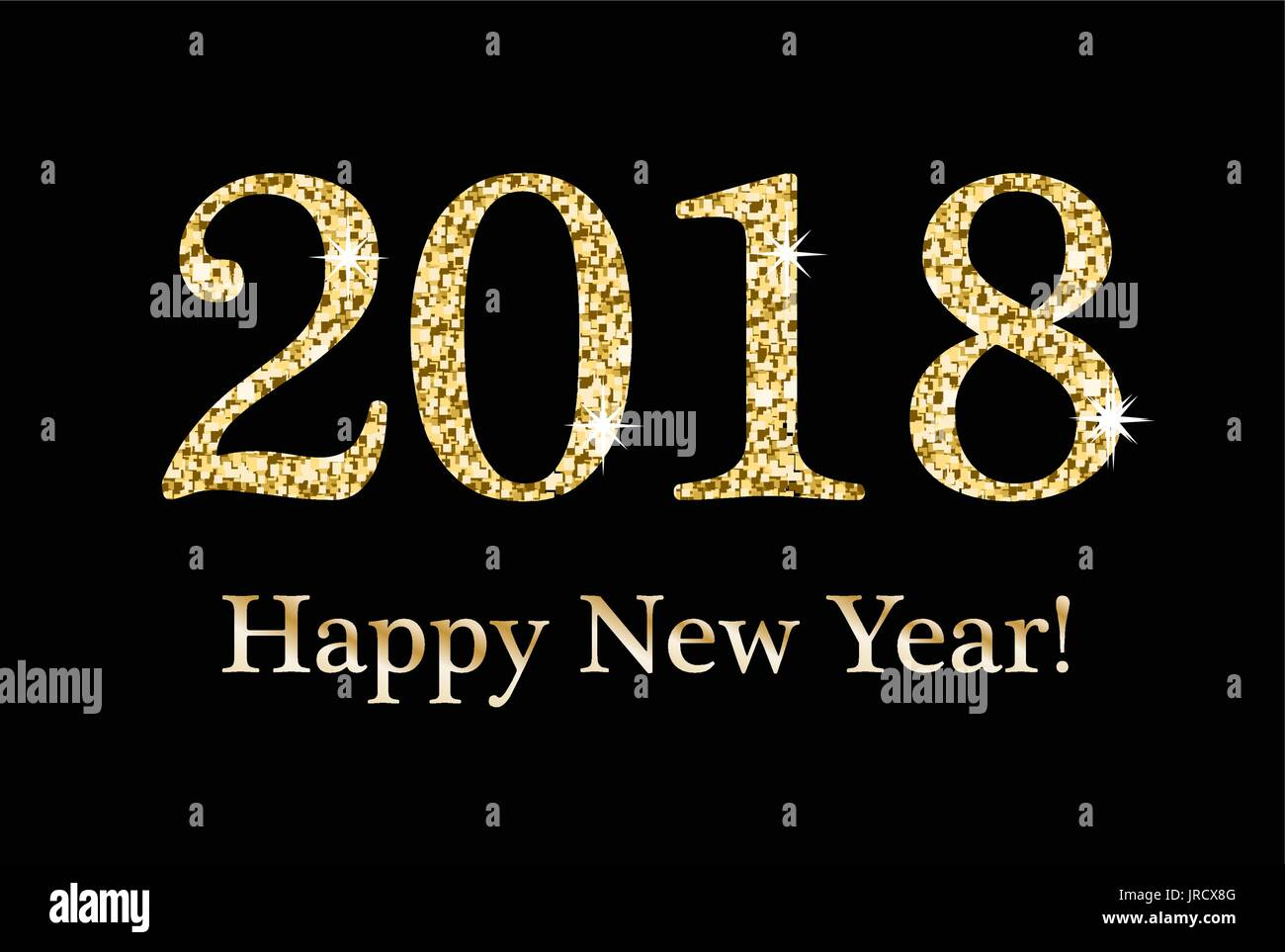 Happy new year 2018 card template merry christmas and happy new happy new year 2018 card template kristyandbryce Choice Image