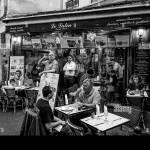 French Food Restaurant In Paris Latin Quarter Paris France Stock Photo Alamy
