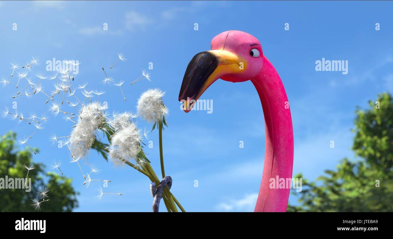 Featherstone Gnomeo And Juliet Stock Photo