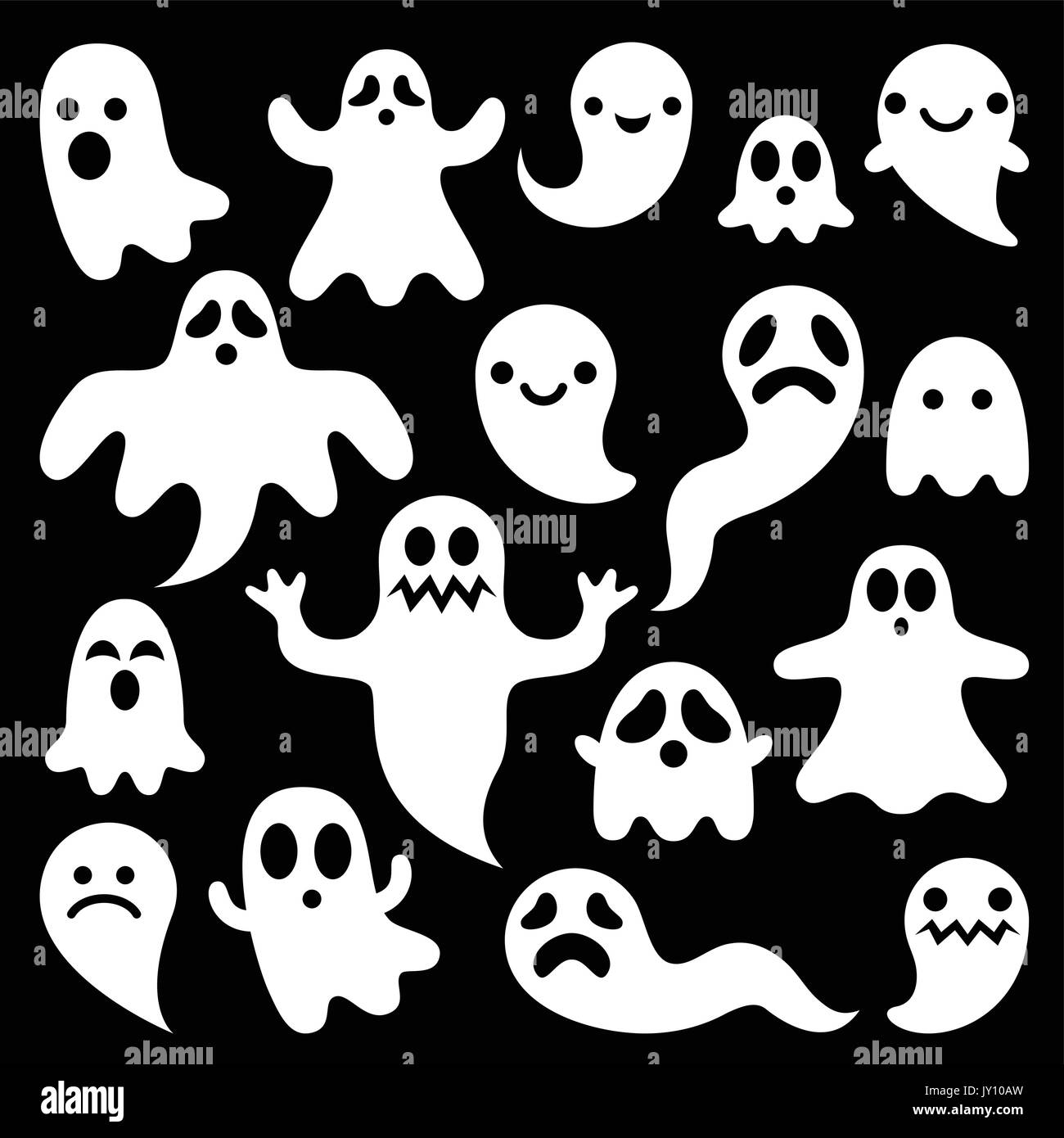 Cartoon Ghost High Resolution Stock Photography And Images Alamy