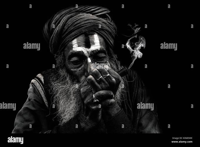 Smoking Chillum Stock Photos Images Alamy