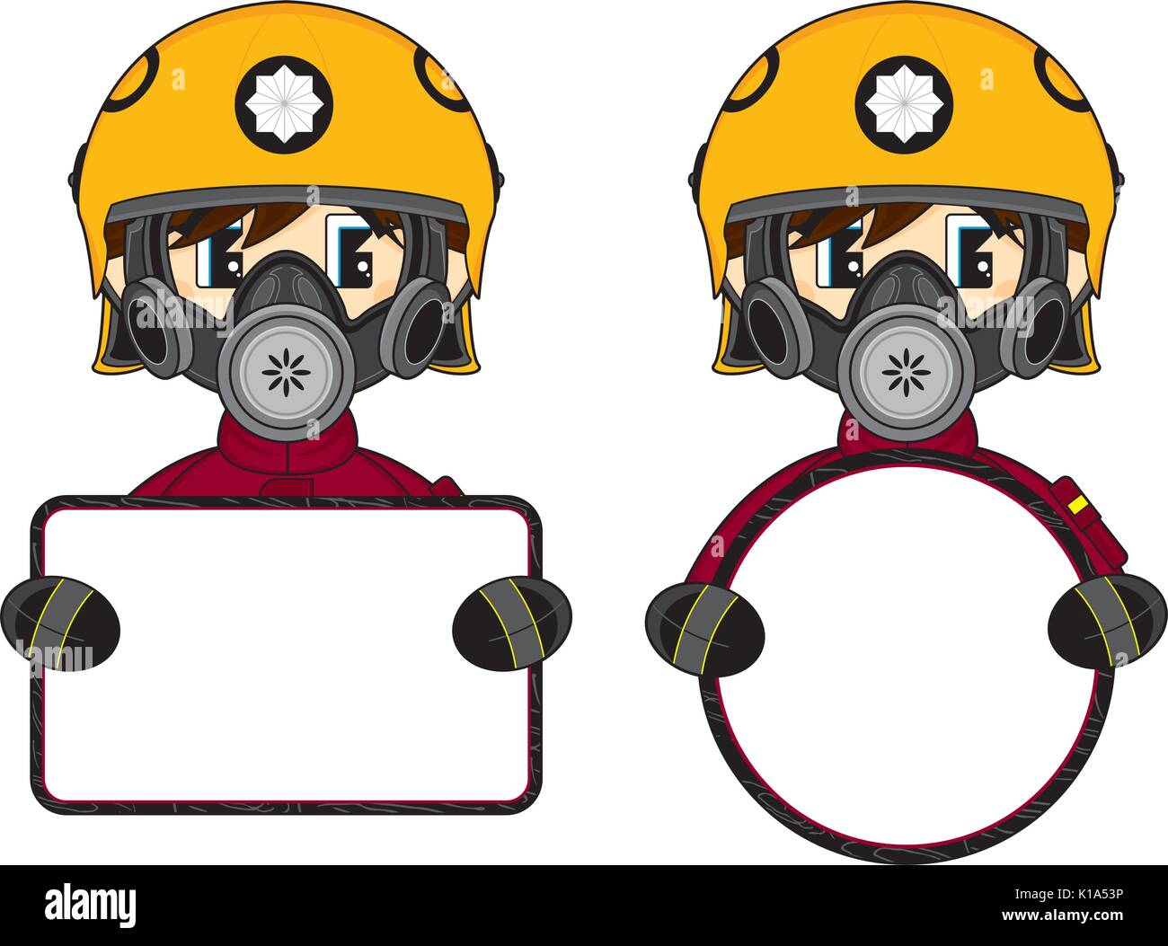 Cartoon Fireman Stock Photos Amp Cartoon Fireman Stock