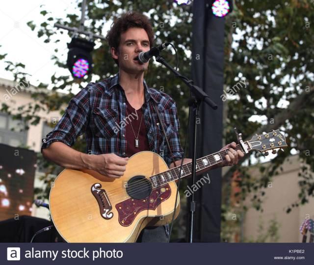 Tyler Hilton Summer Concert Series At The Grove