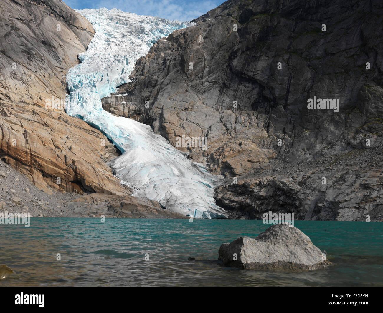 Jostedalsbreen Glacier Norway Stock Photos Amp Jostedalsbreen Glacier Norway Stock Images Alamy