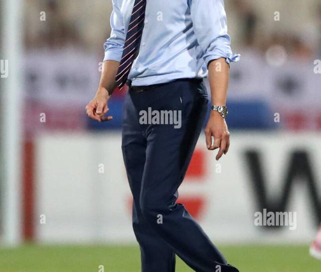 England Manager Gareth Southgate After The 2018 Fifa World Cup Qualifying Group F Match At The National Stadium Ta Qali Press Association Photo