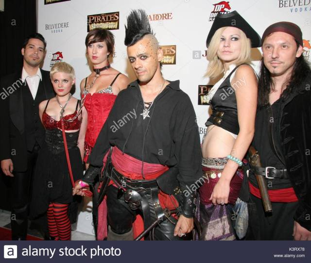 Guests At The Premiere Of Pirates Ii Stagnettis Revenge Presented By Digital Playground At The Orpheum Theatre In Los Angeles California