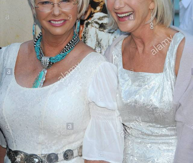 Madame Susan Austin And Helen Mirren Love Ranch Premiere Held At The Cinerama Dome Hollywood Ca