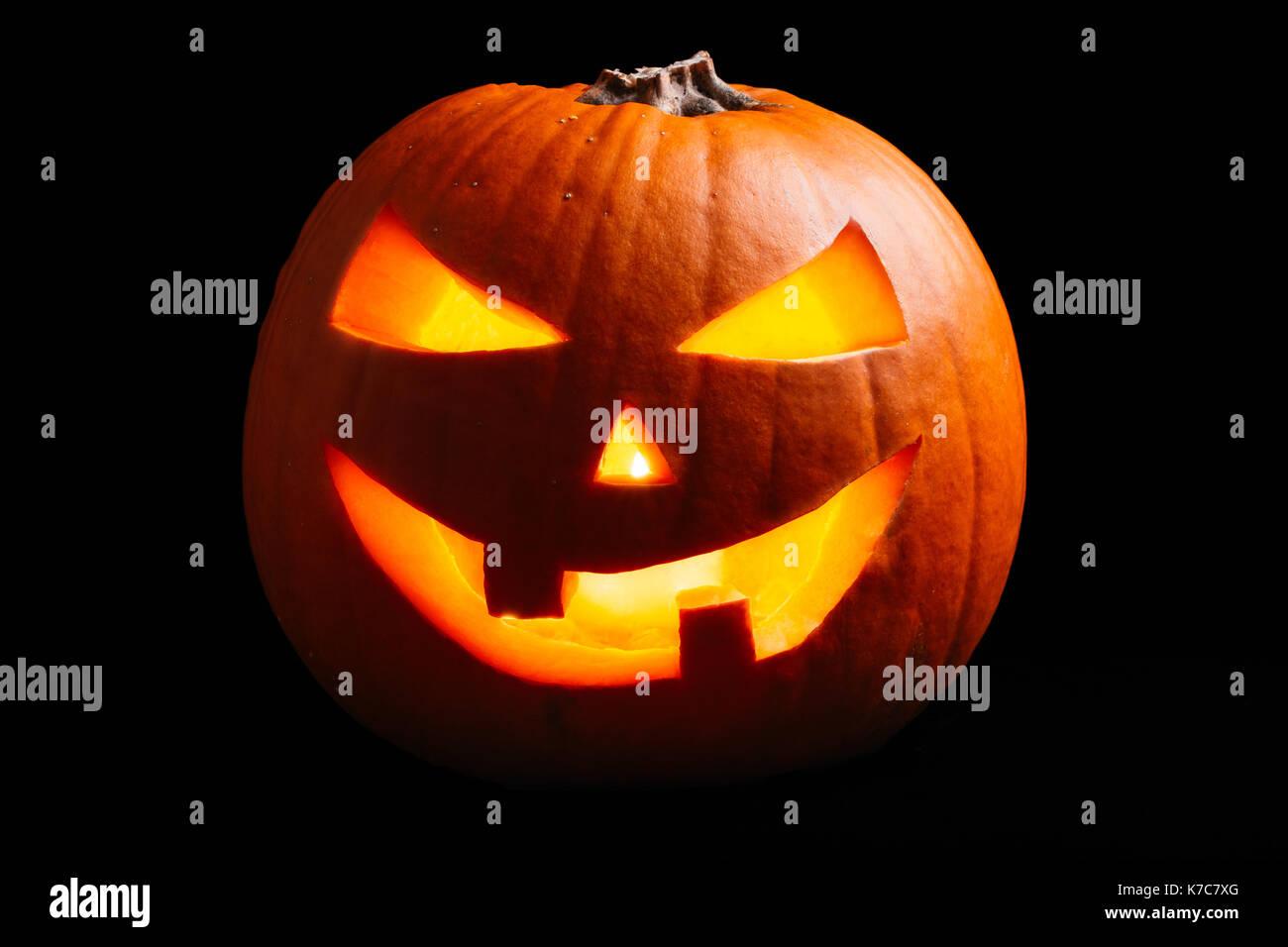 Pumpkin Black Lantern