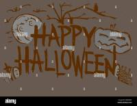 happy halloween scary writing