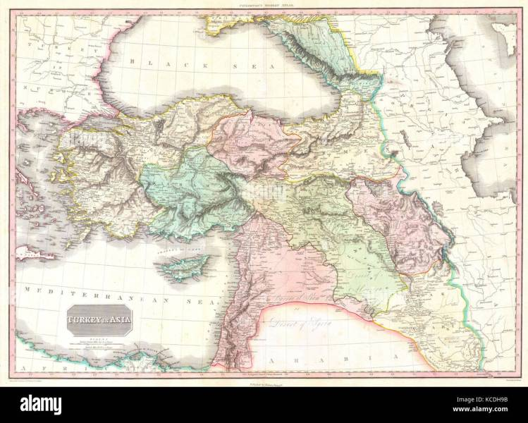 1818  Pinkerton Map of Turkey in Asia  Iraq  Syria  and Palestine     1818  Pinkerton Map of Turkey in Asia  Iraq  Syria  and Palestine  John  Pinkerton  1758     1826  Scottish antiquarian