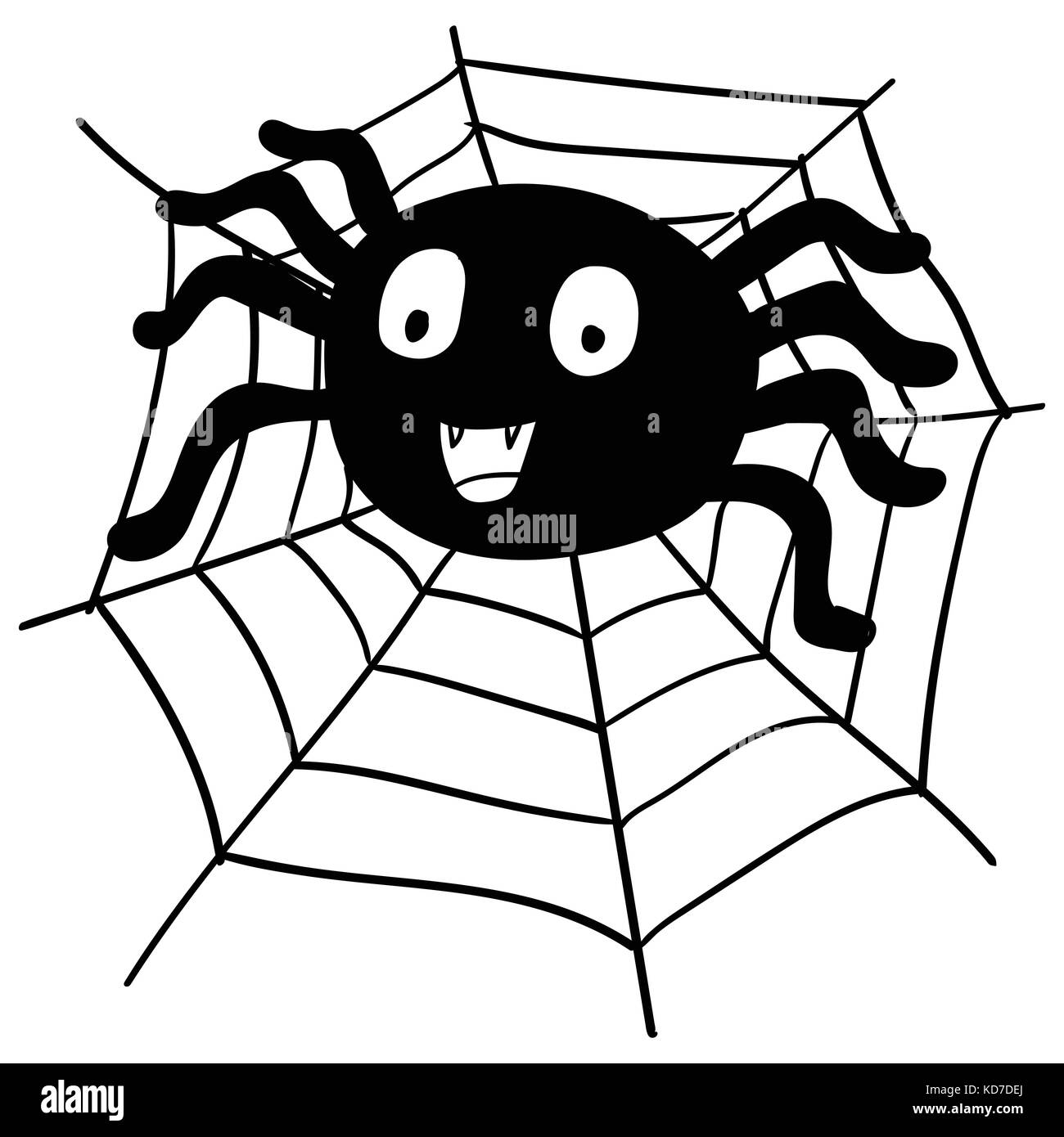 Cartoon Spider Cut Out Stock Images Amp Pictures Alamy