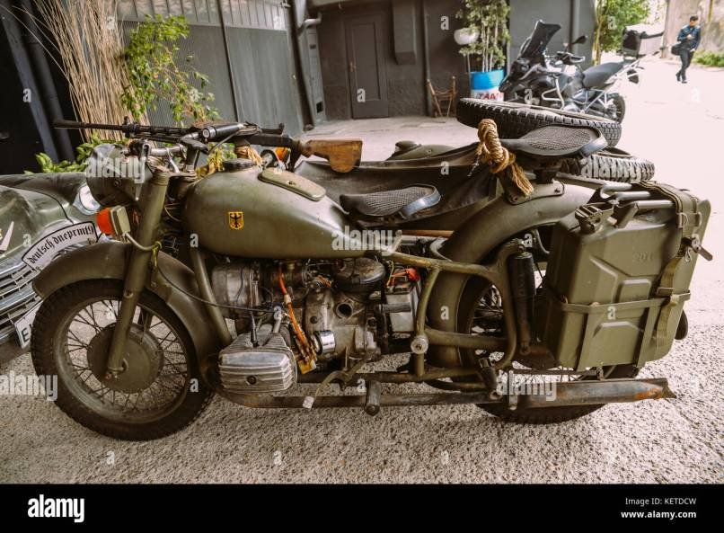 This Bmw R75 Is A World War Ii Era Motorcycle And Sidecar Combination Manufactured By