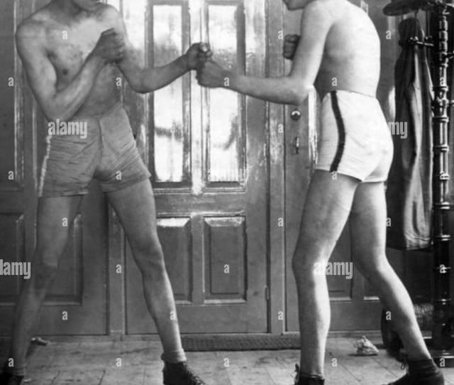 Nk Boksen Voor Amateurs 1924 Stock Image