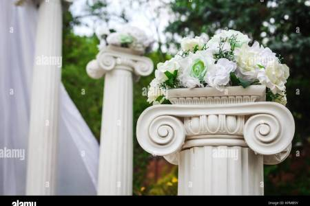 wedding columns with flowers » Flower Shop Near Me | Flower Shop