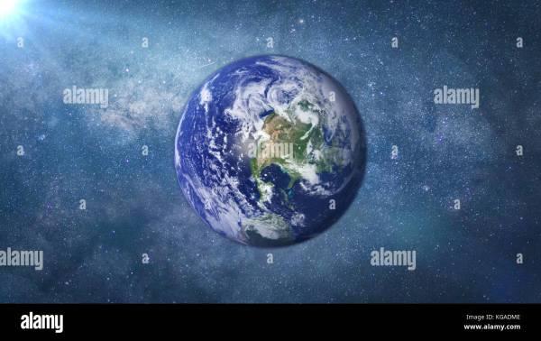 Earth Milky Way Stock Photos Earth Milky Way Stock
