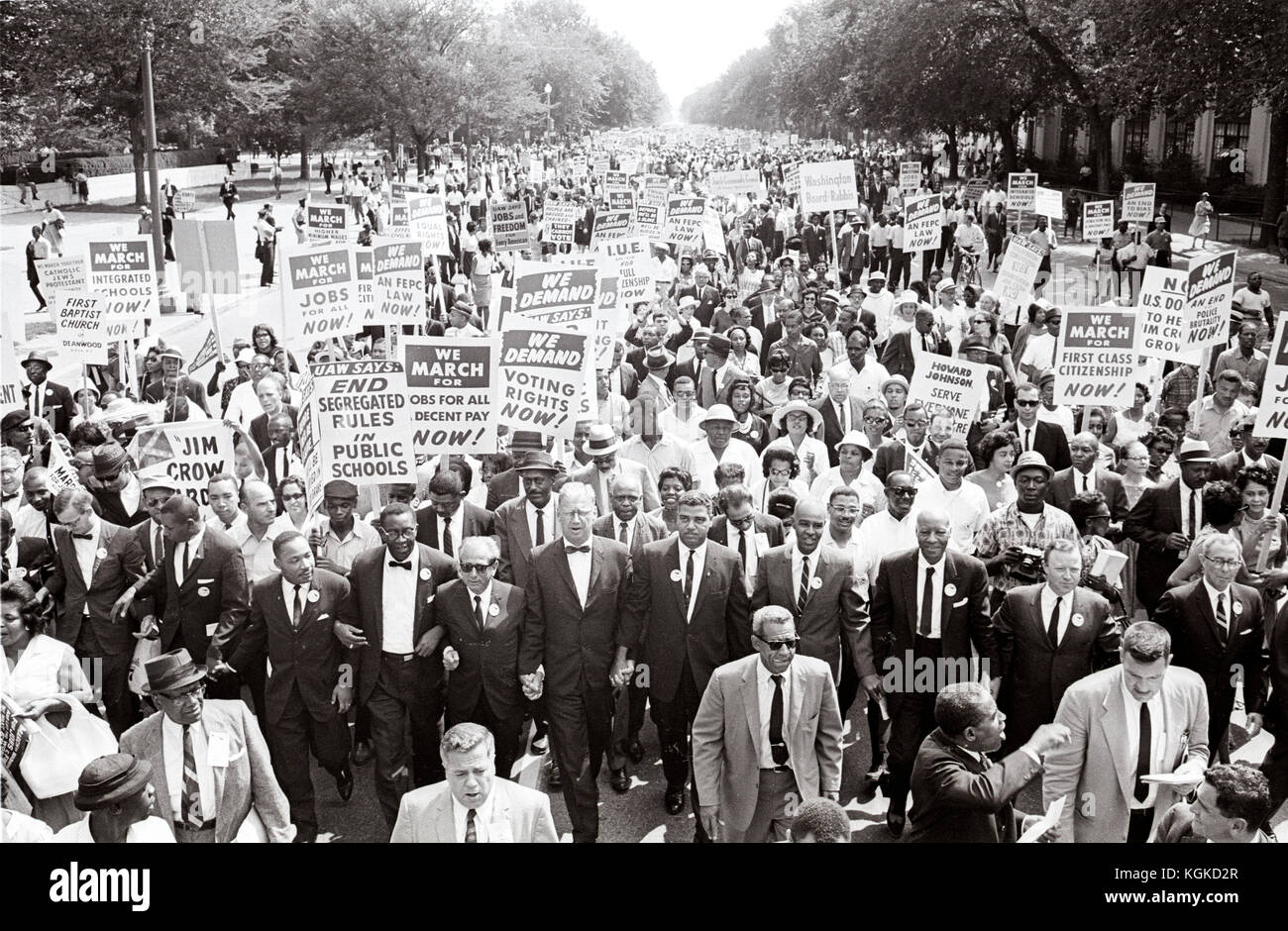 Leaders Of The March On Washington For Jobs And