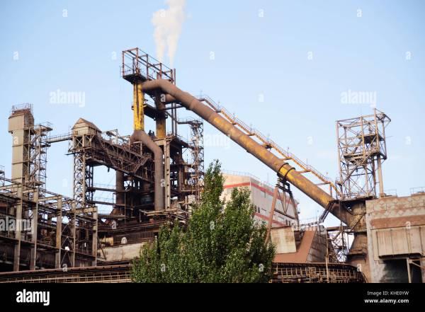 Metallurgical Furnace Stock Photos & Metallurgical Furnace ...