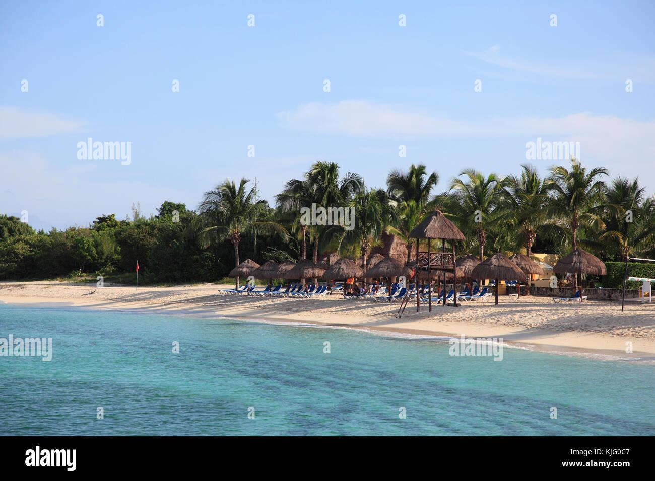 https www alamy com stock image san francisco beach caribbean ocean cozumel island isla de cozumel 166308695 html