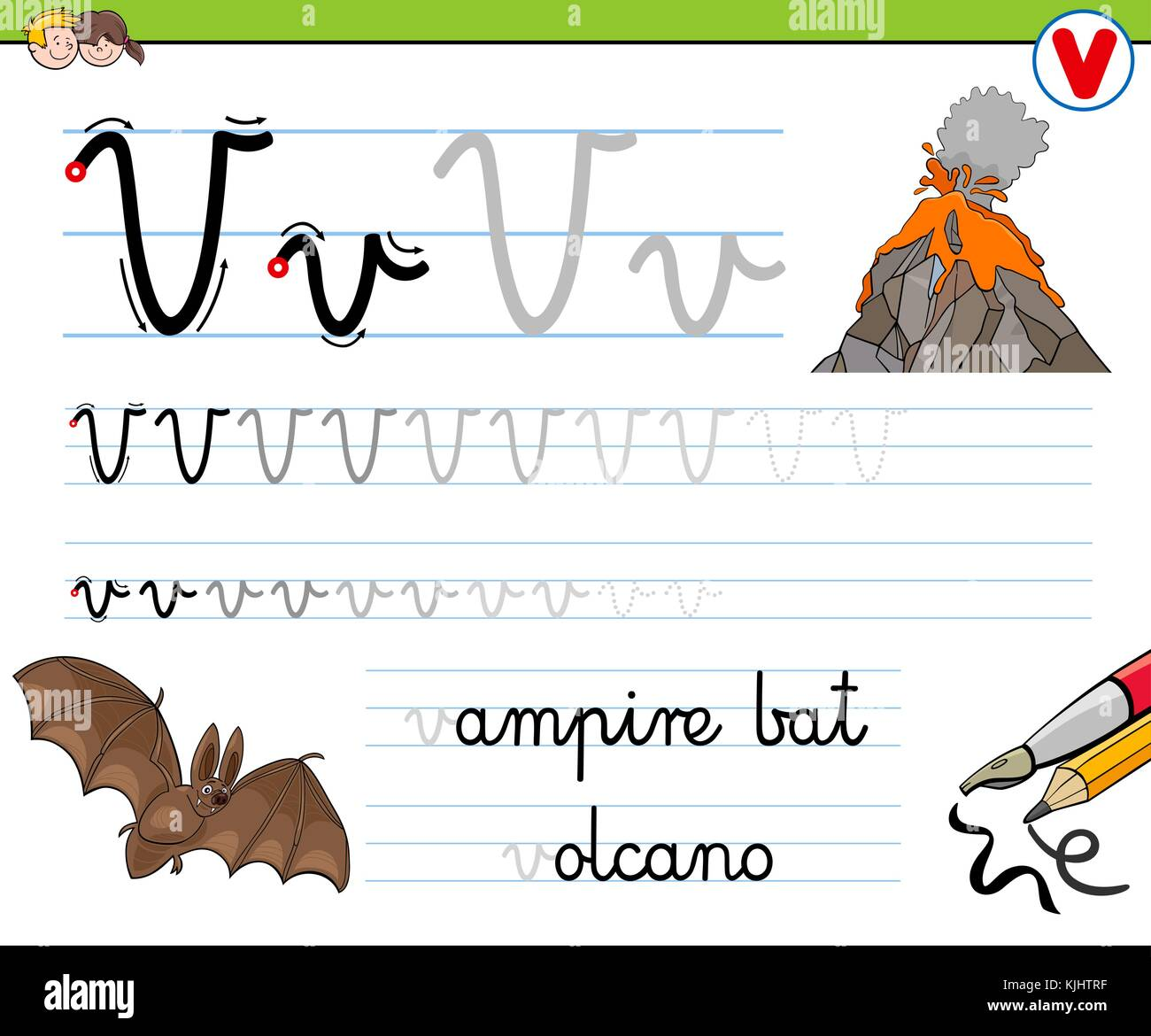 Alphabet Worksheet Letter Stock Photos Amp Alphabet