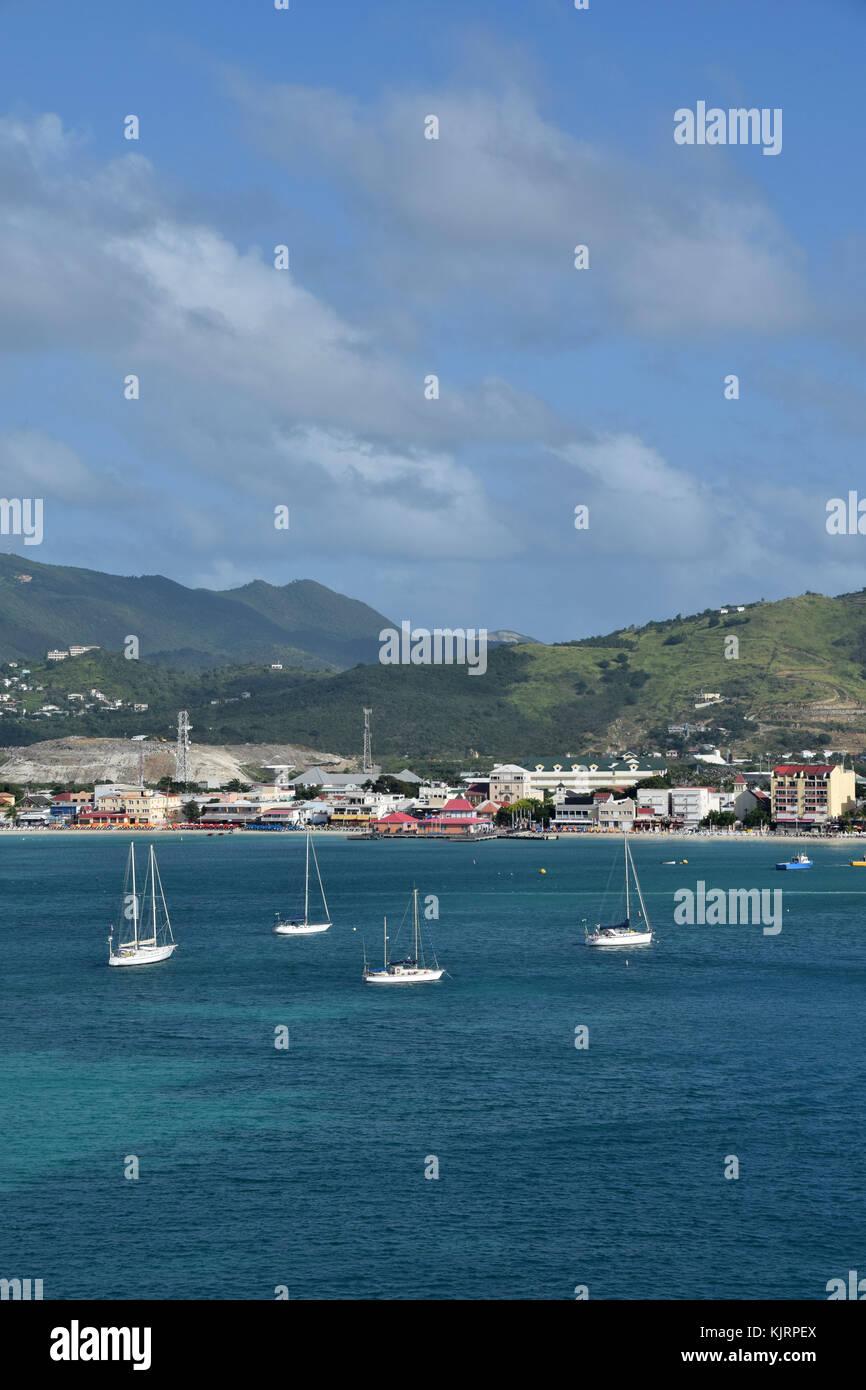 St Thomas Charlotte Amalie Waterfront Stock Photos Amp St