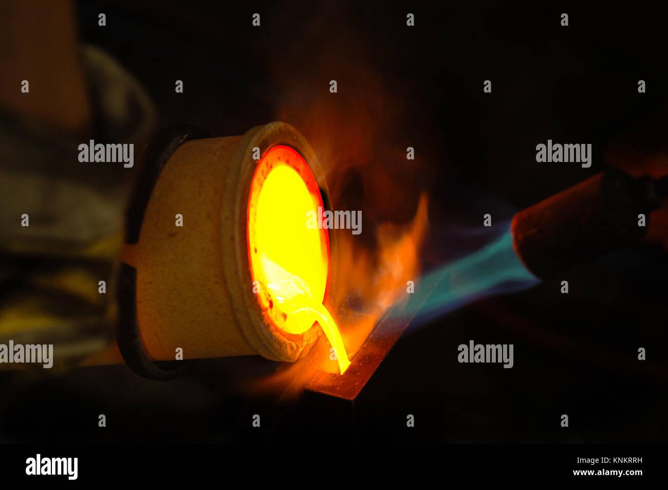 Smelter Melting Clock