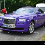 Purple Rolls Royce High Resolution Stock Photography And Images Alamy
