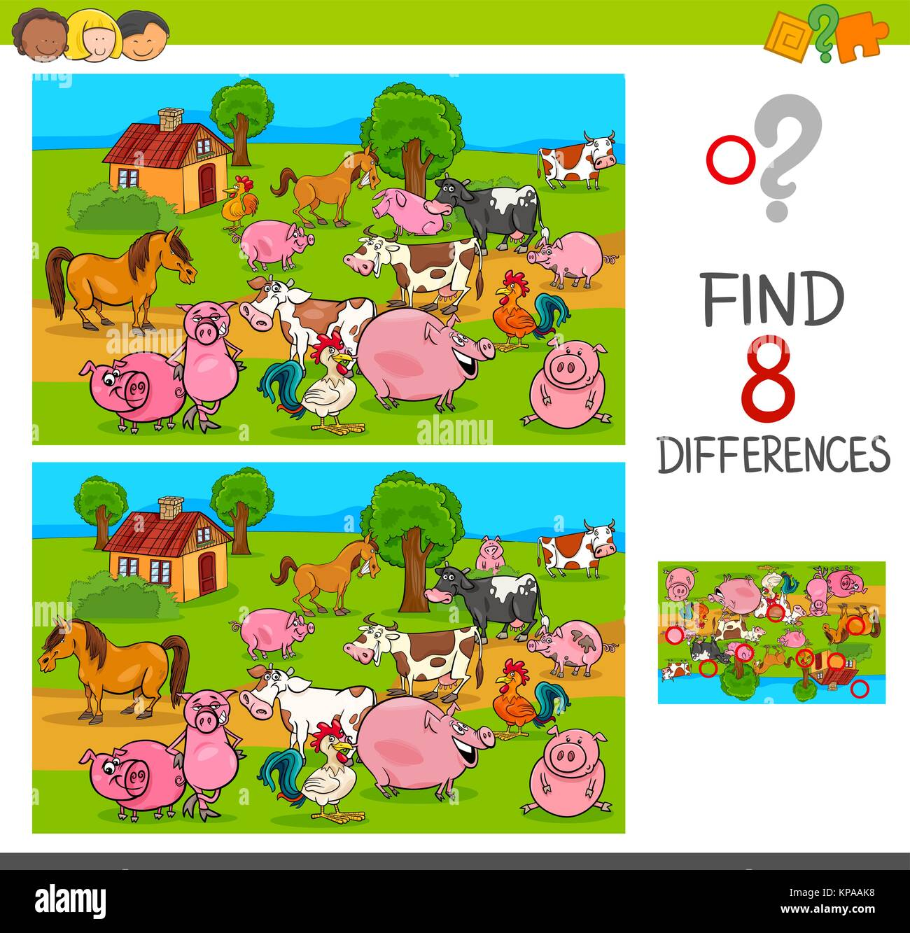 Animals Pictures Stock Vector Images