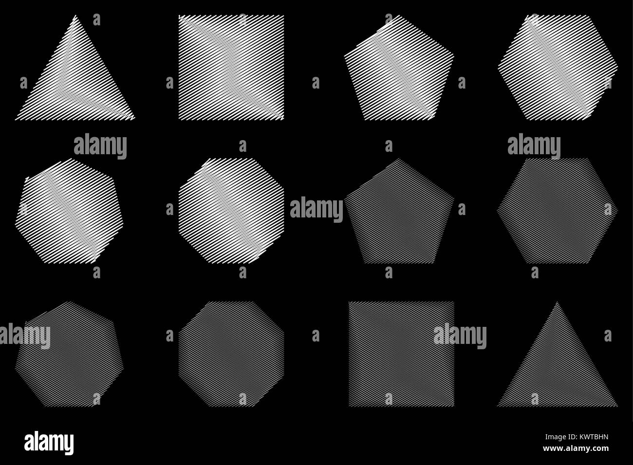 Heptagon Shapes Stock Photos Amp Heptagon Shapes Stock