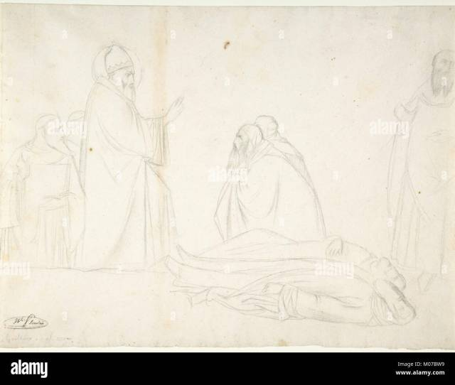 Miracle Of St Sylvester The Raising Of Two Pagan Priests After Maso Di Banco S Croce Florence Met Dp806389
