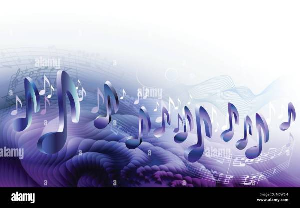 Music Notes Abstract Stock Photos & Music Notes Abstract ...