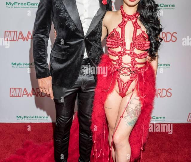 Gina Valentina At The Avn Awards At The Hard Rock Hotel Casino In Las Vegas Nevada On January 27 2018 Credit Damairs Carter Media Punch Alamy