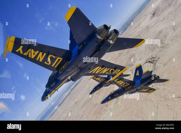 Blue Angels Navy F 18 Jet Stock Photos & Blue Angels Navy ...