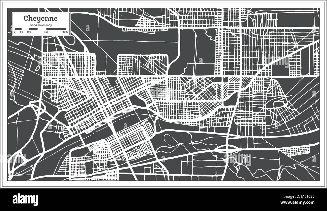 cheyenne downtown map The world widest